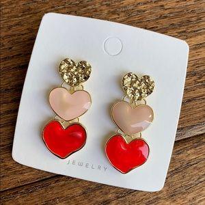 BOGO! Heart Drop Earrings